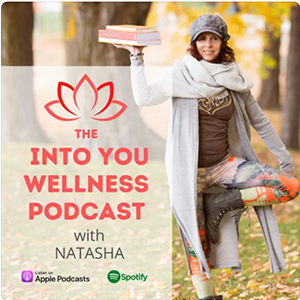Into You Wellness Podcast graphic