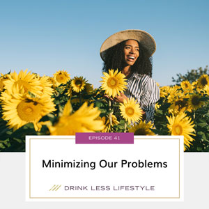 Drink Less Lifestyle with Dr. Sherry Price | Minimizing Our Problems