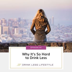 Drink Less Lifestyle with Dr. Sherry Price   Why It's So Hard to Drink Less